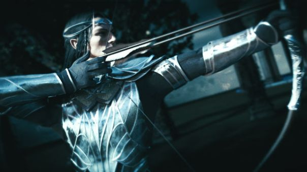 Celebrimbor takes aim.