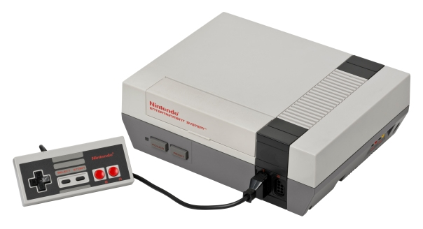 An NES console.