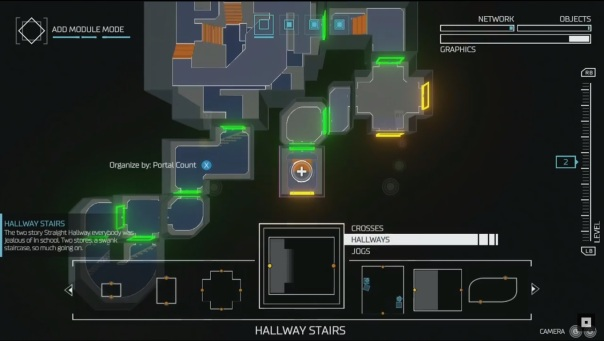 Building maps with Doom's Snapmap feature.