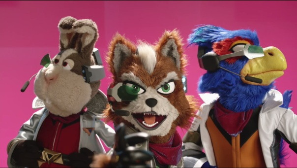 The Fantastic Mr. Star Fox.