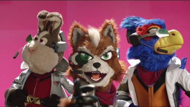 The Fantastic Mr. Star Fox.