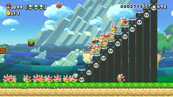 Super Mario Maker course (ID: F75D-0000-004F-C9D6)